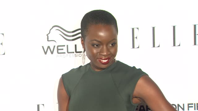 danai gurira at elle's 2nd annual 'women in television' celebration 1/24/2013 in west hollywood ca - danai gurira stock videos and b-roll footage