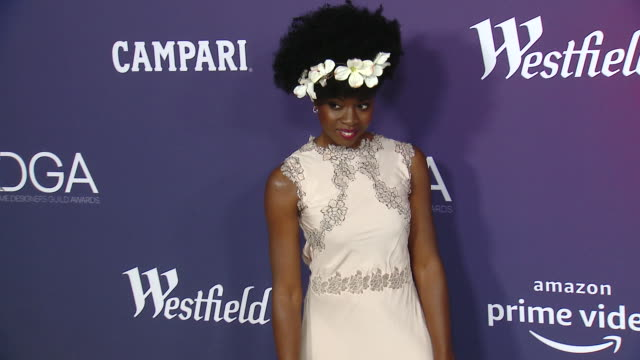 Danai Gurira at the 21st CDGA at The Beverly Hilton Hotel on February 19 2019 in Beverly Hills California