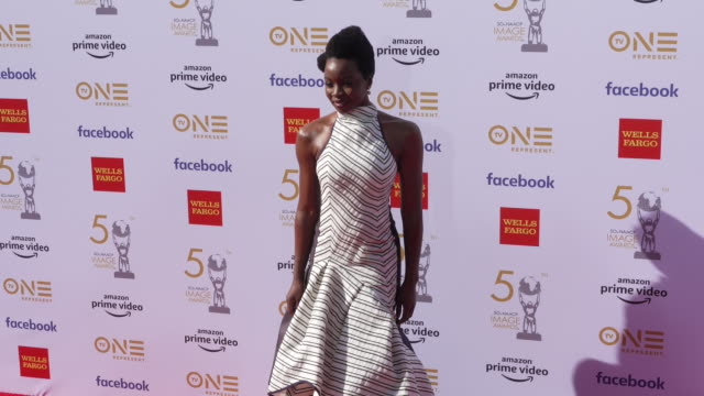 danai gurira at the 50th naacp image awards at dolby theatre on march 30 2019 in hollywood california - danai gurira stock videos and b-roll footage