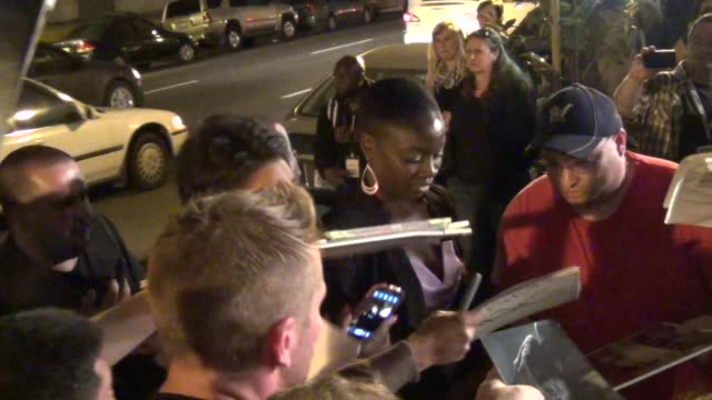 danai gurira greets fans at celebrity sightings comiccon international 2013 danai gurira greets fans at celebrity sightings on july 19 2013 in san... - danai gurira stock videos and b-roll footage