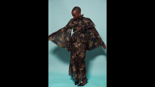 Danai Gurira poses for a gif the 2018 Film Independent Spirit Awards on March 3 2018 in Santa Monica California
