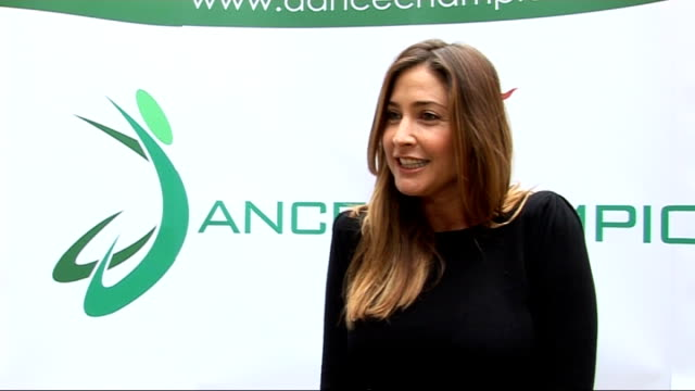 Arlene Philips and Lisa Snowdon interviews Lisa Snowdon interview SOT On having caught the dance bug since taking part in Strictly Come Dancing...