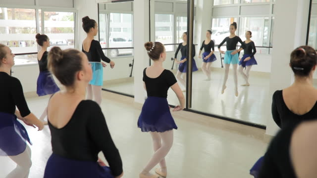 dance class - ballet studio stock videos & royalty-free footage