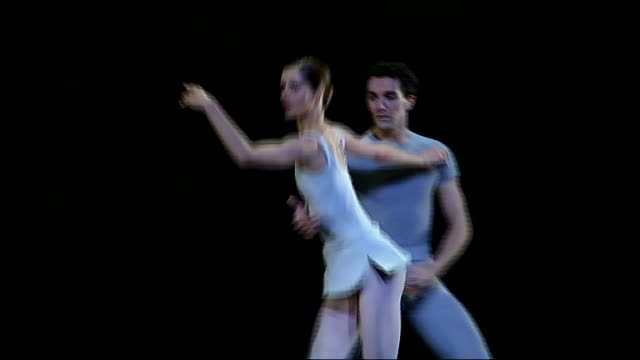 darcey bussell to retire from ballet **darcey bussell interview overlaid sot** bussell performing 'the song of the earth' in rehearsal with gary avis... - darcey bussell bildbanksvideor och videomaterial från bakom kulisserna