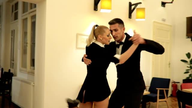 dance duo - ballroom stock videos & royalty-free footage