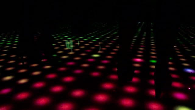 dance floor - dance floor stock videos and b-roll footage