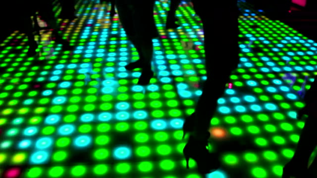 dance floor - nightclub stock videos & royalty-free footage