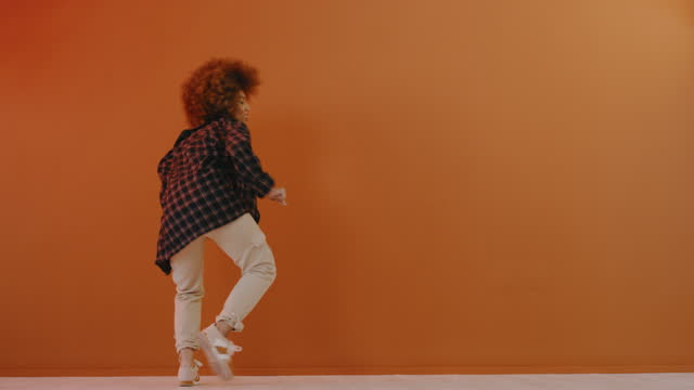 dance like you've never danced before - natural hair stock videos & royalty-free footage