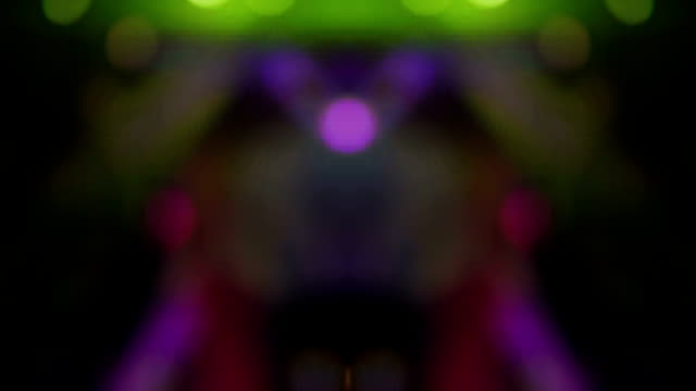 dance of lights background - abstract - roof beam stock videos & royalty-free footage