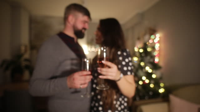 dance on christmas eve - slow dancing stock videos and b-roll footage