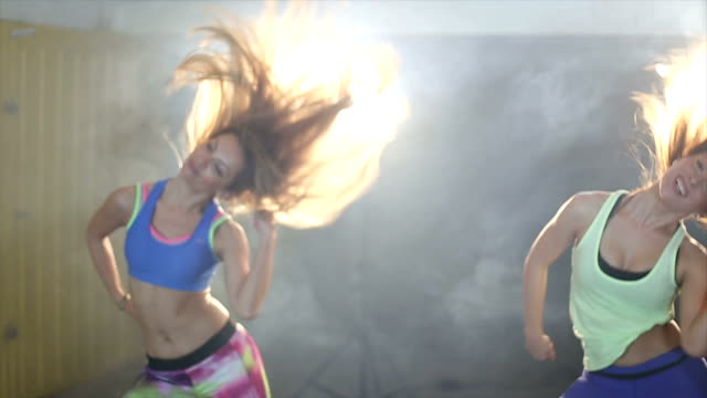 dance to stay fit - instructor stock videos & royalty-free footage