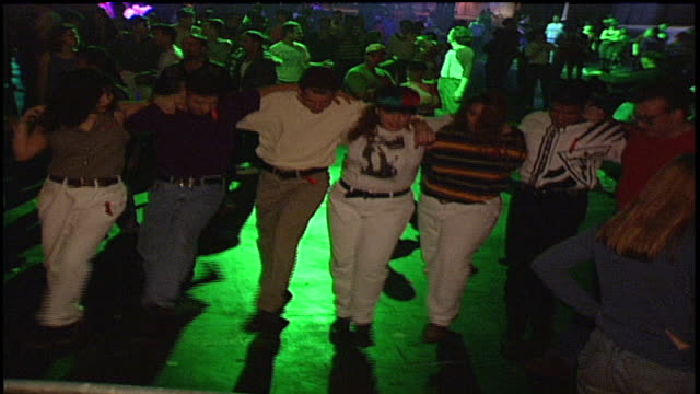 danceathon crowd - 1992 stock videos & royalty-free footage
