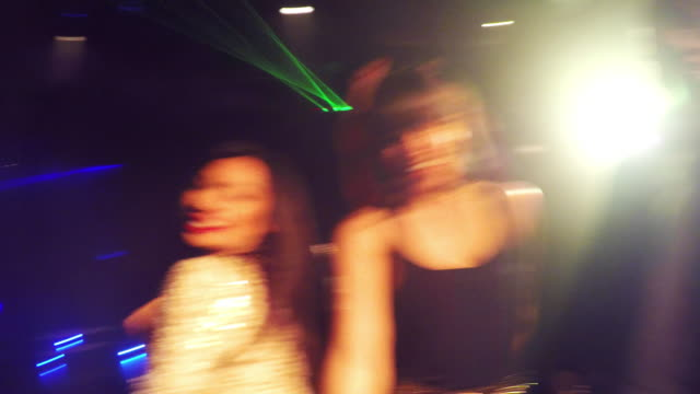 WA Dancer POV Friends dancing in nightclub.