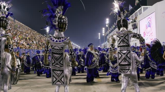 ms dancers at rio carnival / rio de janeiro, brazil - brazilian carnival stock videos and b-roll footage