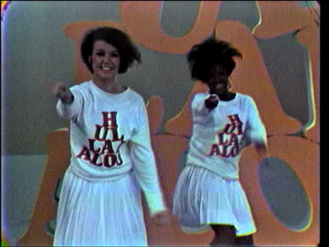 / Dancers introduce guests Barry McGuire Gary Lewis Jerry Lewis Joanie Sommers Paul Revere on Hullabaloo Show 20