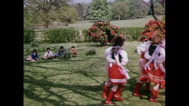 MONTAGE dancers performing for children at Pestalozzi Village, England