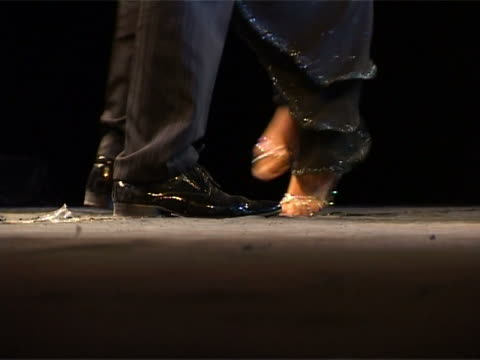 dancing argentine tango - tango dance stock videos and b-roll footage