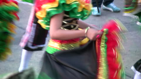 hd: dancing at a carnival - colombia stock videos & royalty-free footage