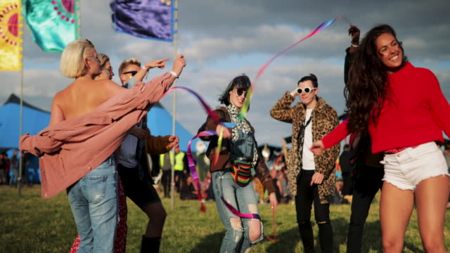 dancing at festival - traditional festival stock videos & royalty-free footage