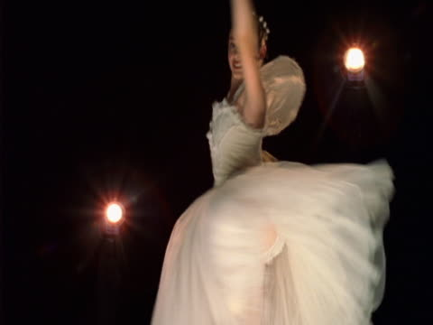 dancing ballerina - londonalight stock videos and b-roll footage