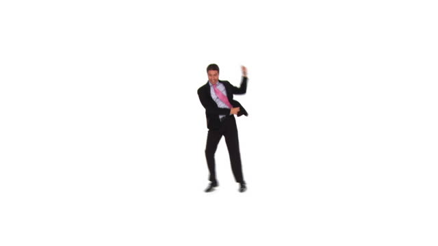 HD: Tanz Geschäftsmann