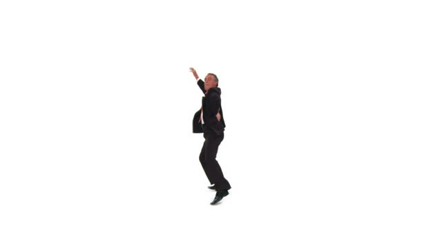 HD: Dancing Businessman
