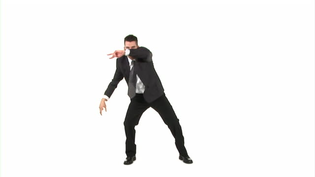 hd: dancing businessman - funky stock videos and b-roll footage