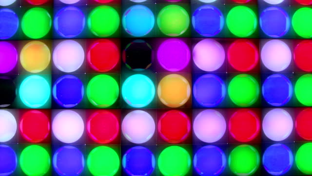 dancing disco lights - strobe light stock videos & royalty-free footage