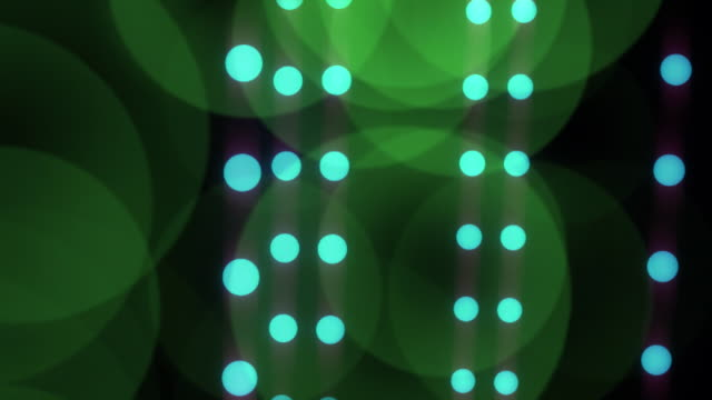 dancing dots, looping hd background - polka dot stock videos and b-roll footage