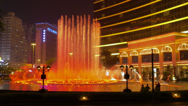 Dancing Fountain in Front of Wynn Casino Macau, Macau, China