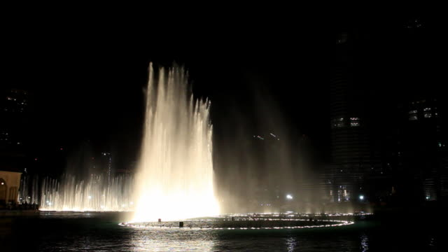 dancing fountain - fountain stock videos and b-roll footage