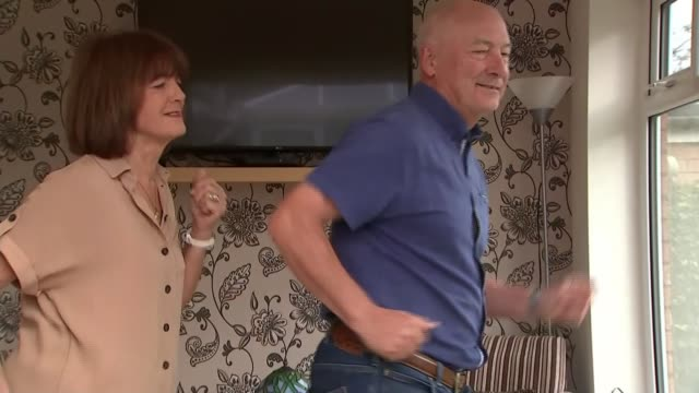 dancing grandparents find new lease of life on tiktok; england: ext jonathan o'shaughnessy interview - joan o'shaughnessy and jimmy o'shaughnessy... - new stock videos & royalty-free footage