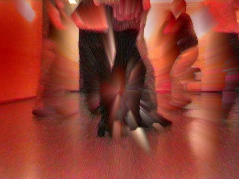 dancing in group - salsa stock videos & royalty-free footage
