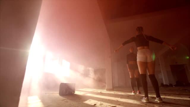 Dancing in the smoke