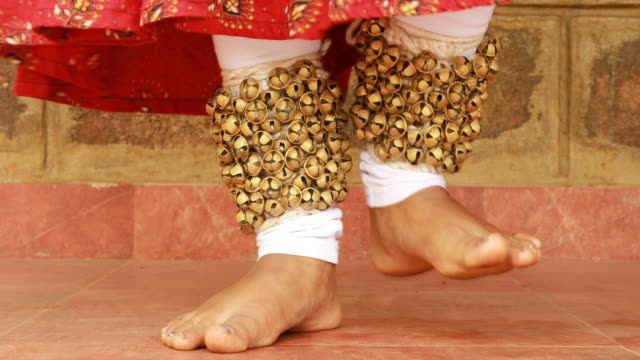 dancing legs - traditional clothing stock videos & royalty-free footage