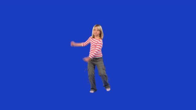 HD: Dancing Little Girl