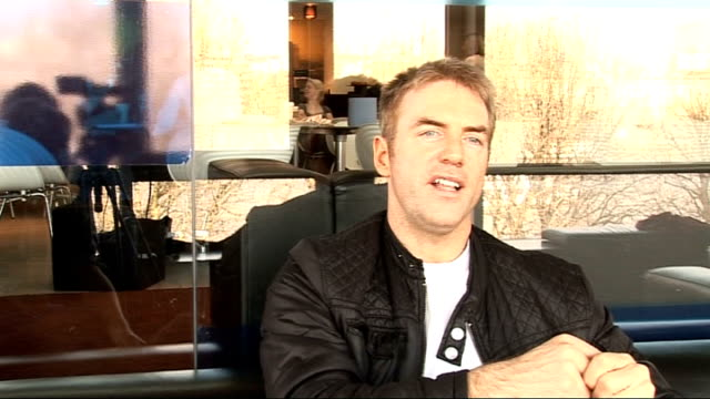 finalists interviews donal macintyre interview sot on how far he has come on his day job how this compares in terms of nerves - finalist stock videos and b-roll footage