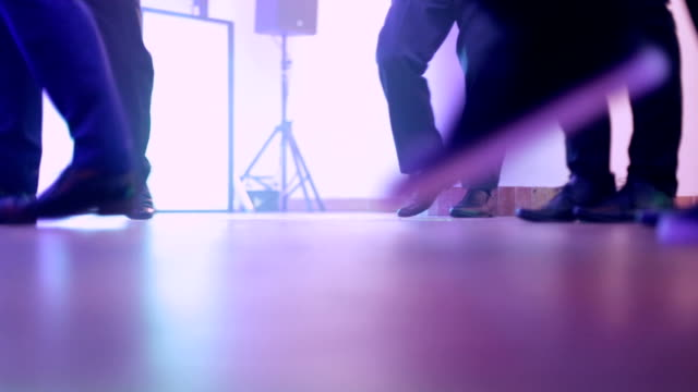 dancing people, wedding, party, defocused - high school prom stock videos and b-roll footage