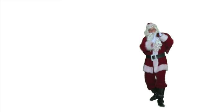 Dancing Santa - Walk On and Off