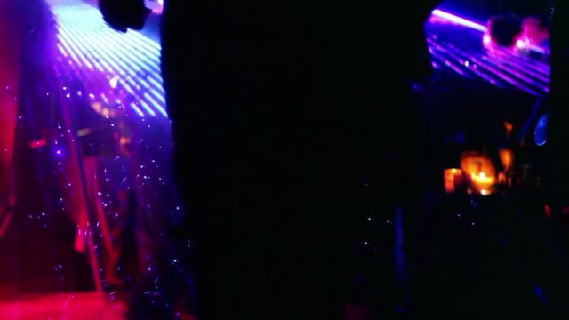 dancing sillhouettes at rave party - performance stock videos & royalty-free footage