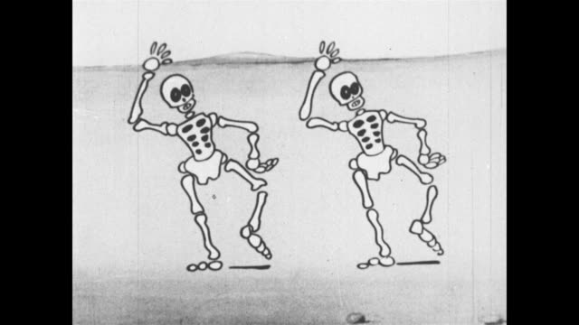 Dancing Skeletons and a Cowboy Dog
