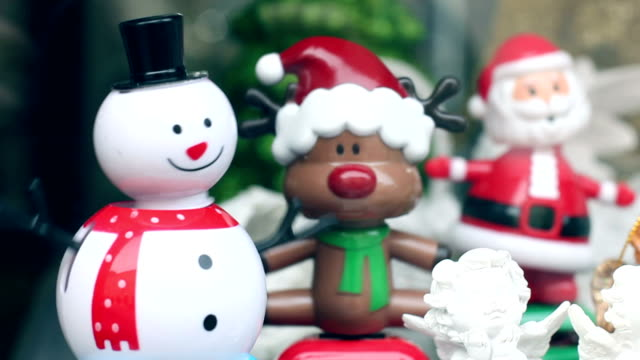 dancing snowman and reindeer, funny, humor - snowman stock videos & royalty-free footage