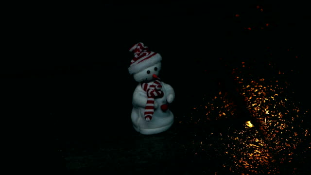 Tanzen Sie Schneemann, Weihnachten,