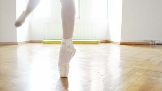 dancing with grace. - ballet shoe stock videos and b-roll footage