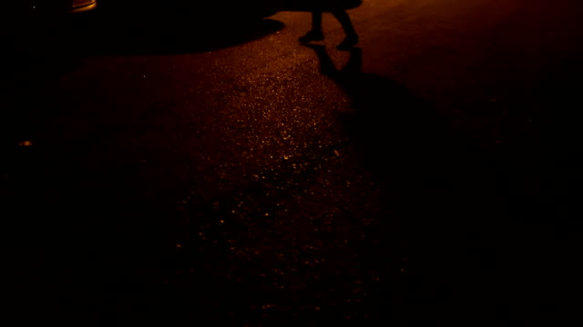 dancing with shadow - hip hop stock videos & royalty-free footage