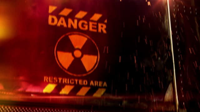 danger, restricted area - nuclear reactor stock videos & royalty-free footage