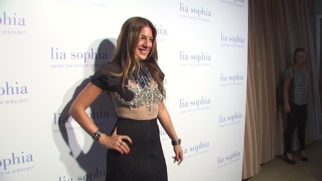 dani stahl at the lia sophia previews the lanaya ii collection at west hollywood ca - stahl stock videos & royalty-free footage
