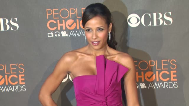 dania ramirez at the 36th annual people's choice awards at los angeles ca. - people's choice awards stock videos & royalty-free footage
