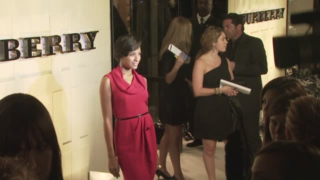 dania ramirez at the burberry beverly hills store re-opening at los angeles ca. - beverly hills点の映像素材/bロール