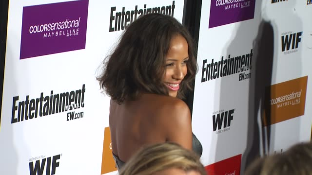 dania ramirez at the entertainment weekly - women in film pre-emmy party at west hollywood ca. - pre emmy party stock videos & royalty-free footage